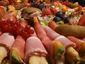 Luxe buffet